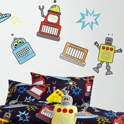 Robots Sticker Set
