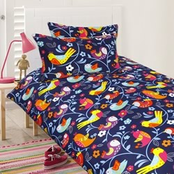 Bright Birds Quilt Cover Set
