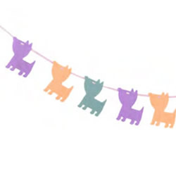 Dogs Yellow Bunting