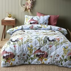 Ironbark QUILTED Cotton Quilt Cover Set