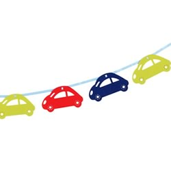Cars Red Bunting