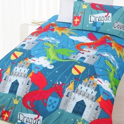 Dragon Cove Quilt Cover Set