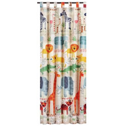 African Jungle Curtains