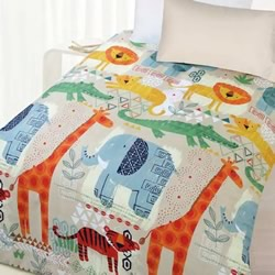 African Jungle Quilt Cover Set
