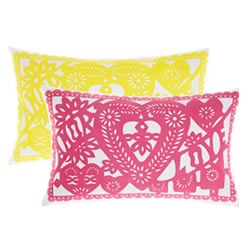 Papel Picado Cushion
