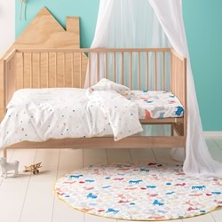 Animal Farm Cot Quilt Cover