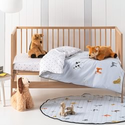Dog For Days Cot Quilt Cover