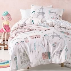 I Dream Of Paris Quilt Cover Set