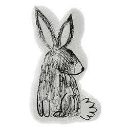 Benny Bunny Novelty Cushion