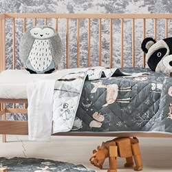 Into The Woods Cot Coverlet