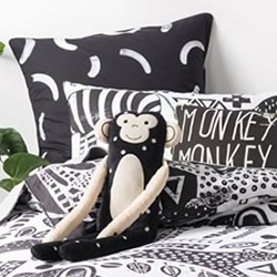 Mamba Black European Pillowcase