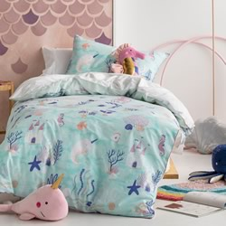Sea Squad Quilt Cover Set
