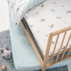 Whale Of A Time Cot Sheets