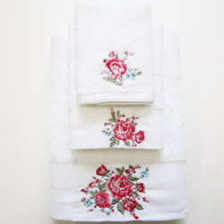 Collette Rose Towels