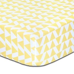 Be Brave Triangle Cot Fitted Sheets