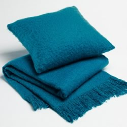 Teal Acrylic Throw