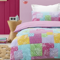 Bella Padded Quilt Cover Set