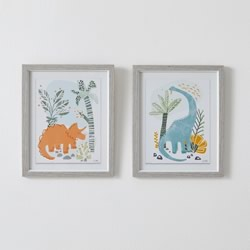 Framed Wall Art Dino