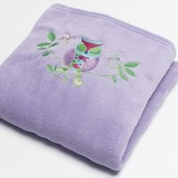 Owl Song Fleece Throw