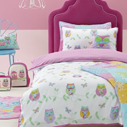 Owl Song Quilt Cover Set