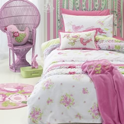 Shabby Chic Quilt Cover Set