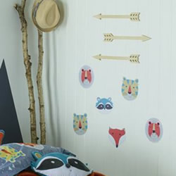 Funny Faces Wall Decals