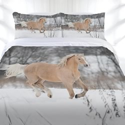 Winter Gallop Quilt Cover Set