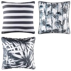 Outdoor Cushions Charcoal
