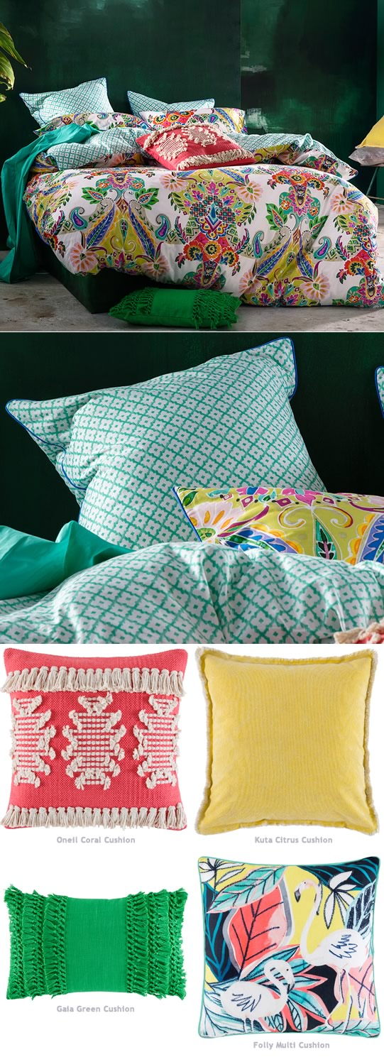 Janina Quilt Cover Set By Kas Cottonbox