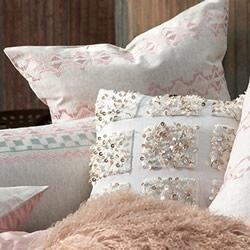 Alexa Blush European Pillowcase