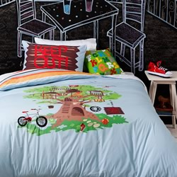 Treehouse Quilt Cover Set