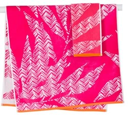 Lima Pink Towels