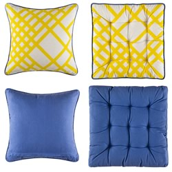 Loko Yellow Outdoor Cushion