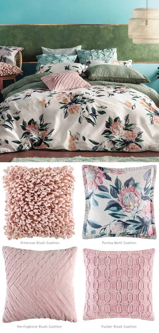Protea Quilt Cover Set