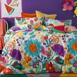 Garden Brights Quilt Cover Set