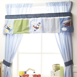 Come Fly With Me Window Valance