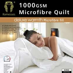 Microfibre Warm Quilts 1000gsm