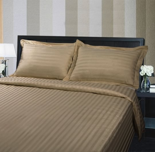 Coffee 375TC Quilt Cover Set