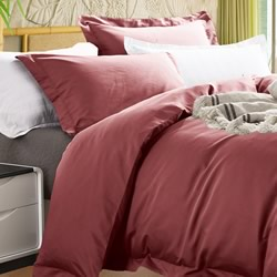 Bamboo 400TC Ketchup Quilt Cover Set