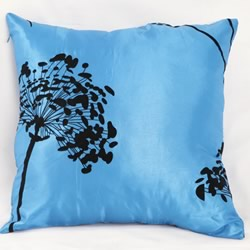 Satin Cherry Tree Cushion