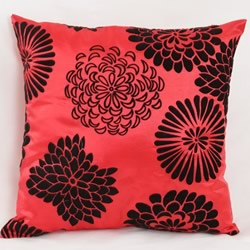 Satin Flower Party Cushion