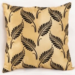 Satin Flying Leave Cushion
