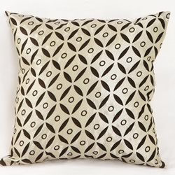 Satin Geometry Cushion