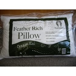 Australian Made Feather Rich Dream Ezi Pillows