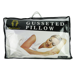Pillows With Gusset
