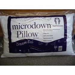 Australian Made Microdown Dream Ezi Pillows