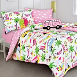 Beach Holiday Quilt Cover Set