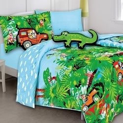 Jungle Safari Quilt Cover Set
