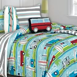 Surfs Up Coverlet