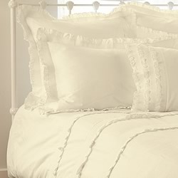 Eve Ivory Quilt Cover Set
